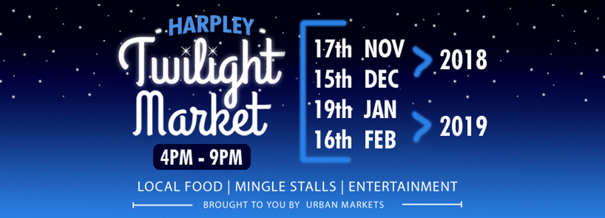 Harpley Twilight Markets are back for Summer!
