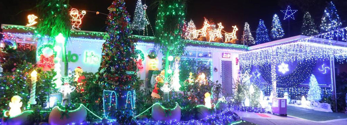 Best Christmas lights competition